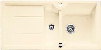 Кухонная мойка BLANCO IDESSA 6 S КЕРАМИКА глянцевый магнолия с клапаном-автоматом кухонная мойка pegas 53 0 6 шлифованный глянцевый 530w ст