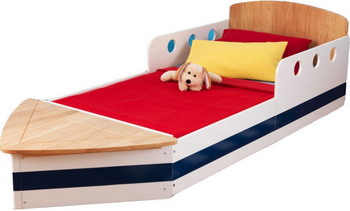 Детская кроватка KidKraft Яхта 76253_KE мышь a4tech bloody p81 black usb с рисунком