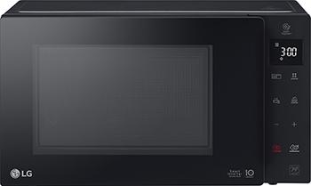 Микроволновая печь - СВЧ LG MB 63 R 35 GIB гриль черный цена