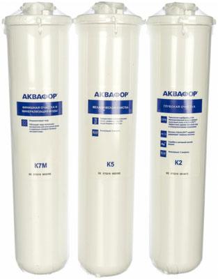 Сменный модуль для систем фильтрации воды Аквафор К5-К2-К7М картридж аквафор к5 к2 к7 к1 05 02 07