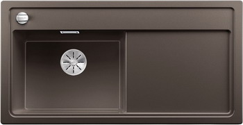 Кухонная мойка BLANCO ZENAR XL 6S (чаша слева) SILGRANIT кофе с кл.-авт. InFino 523983