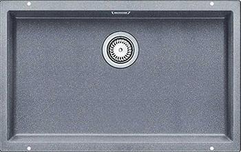 Кухонная мойка BLANCO 523444 SUBLINE 700-U SILGRANIT алюметаллик с отв.арм. InFino кухонная мойка blanco subline 700 u level silgranit алюметаллик с отв арм infino 523540