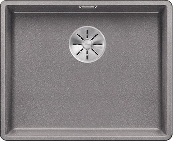 Кухонная мойка Blanco SUBLINE 500-F алюметаллик с отв.арм. InFino 523534