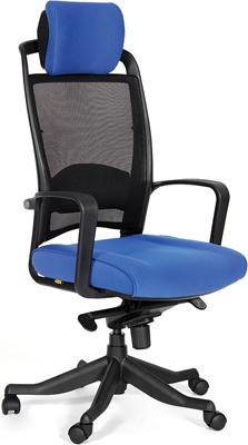 Кресло Chairman 283 синий компьютерное кресло chairman game 8 черно синий