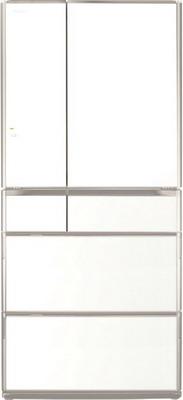 Многокамерный холодильник Hitachi R-G 690 GU XW белый кристалл