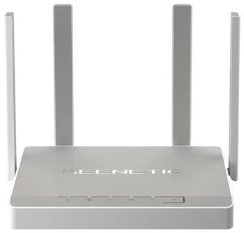 Беспроводной маршрутизатор Keenetic Giga (KN-1010) с Wi-Fi AC 1300 Wave 2 MU-MIMO беспроводной маршрутизатор adsl asus dsl ac52u 802 11aс 733mbps 5 ггц 2 4 ггц 4xlan usb черный