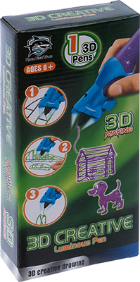 цена 3D-ручка 3D Making светящиеся чернила цвет фиолетовый 1CSC 20003390 онлайн в 2017 году