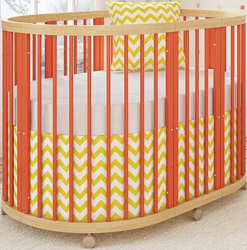 Детская кроватка Shapito TreeO Coral GB 5520-C
