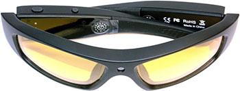 Экшн камера-очки X-TRY XTG 202 HD  ВТ  МР3 SUN YELLOW