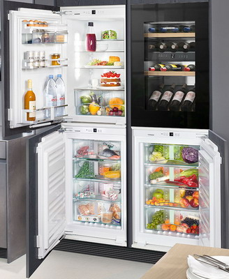 Встраиваемый холодильник Side by Liebherr SBS IKP 1660-20 + EWTgb 1683-20 IGN 1664-20 SIBP 1650-20