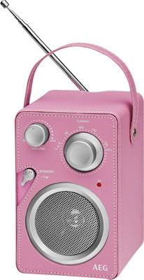 Радиоприемник AEG MR 4144 pink