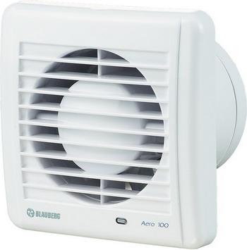 Вытяжной вентилятор BLAUBERG Aero 100 S белый вытяжной вентилятор blauberg turbo 100