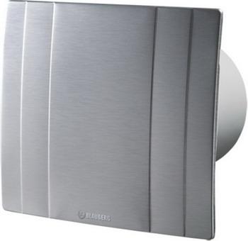 Вытяжной вентилятор BLAUBERG Quatro Hi-Tech 100 серебристый цена 2017