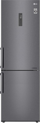 Двухкамерный холодильник LG GA-B 459 BLGL темный графит двухкамерный холодильник lg ga b 459 sqcl белый
