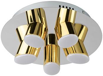 Люстра потолочная DeMarkt Фленсбург 609013505 100*0 2W LED 220 V люстра потолочная demarkt фленсбург 609013809 180 0 2w led 220 v