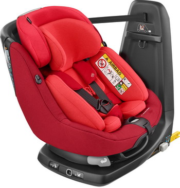 Автокресло Maxi-Cosi Axiss Fix Plus Vivid Red (45 см-105 см) 8025721110 цена