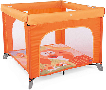 Игровой манеж Chicco Open Box (Fancy Chicken) кровать манеж chicco open box fruit salad