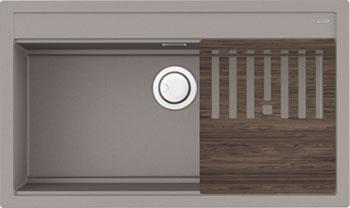 Кухонная мойка OMOIKIRI Kitagawa 86-LB-GR Artceramic Leningrad grey (4993796)