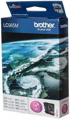 цены на Картридж Brother LC 985 M пурпурный в интернет-магазинах