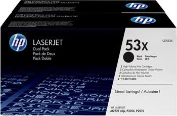 Набор картриджей HP Q 7553 XD Черный