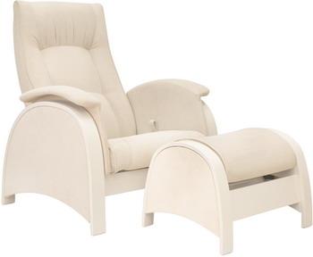 Кресло для кормления и укачивания ребенка + пуф Milli Fly Дуб шампань ткань Verona Vanila 4627159508308 fly ff2801 шампань