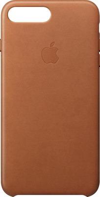 Чехол (клип-кейс) Apple eather Case для iPhone 8 Plus/7 Plus цвет (Saddle Brown) золотисто-коричневый MQHK2ZM/A