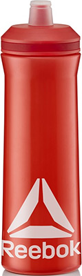Бутылка спортивная Reebok 750 ml. Красн. RABT-12005RD бутылка спортивная sport victory nutrition цвет белый черный прозрачный 750 мл