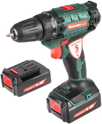 Аккумуляторная дрель Hammer Flex ACD120Li зелёный