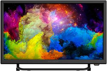 LED телевизор Hyundai H-LED22ET2000 черный цена и фото