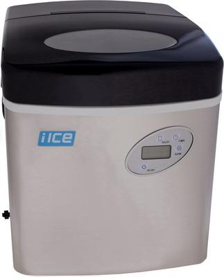 Льдогенератор I-Ice IM006S нержавеющая сталь LCD