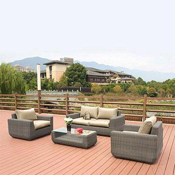 Комплект мебели с диваном Афина AFM-4018B