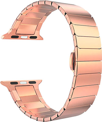 Ремешок для часов Lyambda Apple Watch 38/40 mm CANOPUS DS-APG-05-40-RG Rose Gold