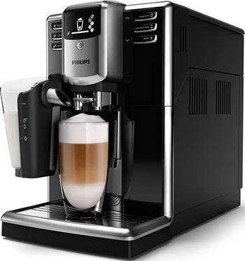 лучшая цена Кофемашина автоматическая Philips EP5040/10 черный серебристый