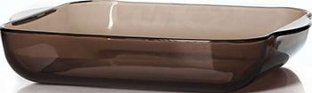 Форма для запекания Pasabahce Borcam True Colors коричневая 3.2 л форма для запекания mia форма для запекания