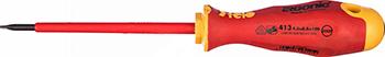 Диэлектрическая отвертка Felo Ergonic плоская шлицевая 4 0X0 8X100 41304090 отвертка felo ergonic плоская шлицевая 5 5x1 0x150 40055510