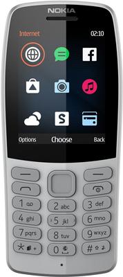 Мобильный телефон Nokia 210 DS (TA-1139) Grey/серый стоимость