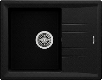 Кухонная мойка Teka STONE 45 S-TG 1B 1D METALLIC BLACK ручной слив 115330045