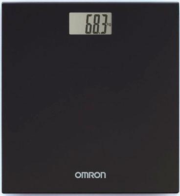 Весы напольные OMRON персональные цифровые HN-289 (HN-289-EBK) черные