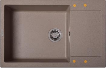 Кухонная мойка Zigmund & Shtain, Rechteck 780.490 РЕЧН.ПЕСОК, Россия  - купить со скидкой