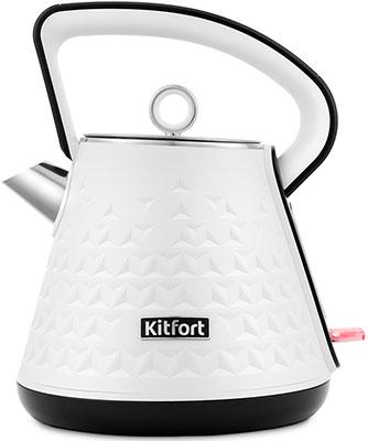 Чайник Kitfort КТ-693-1 белый фото