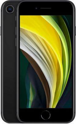 Смартфон Apple iPhone SE (2020) 64Gb черный (MX9R2RU/A)
