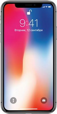 Смартфон Apple iPhone X 256 ГБ серый космос Восстановленный (FQAF2RU/A)