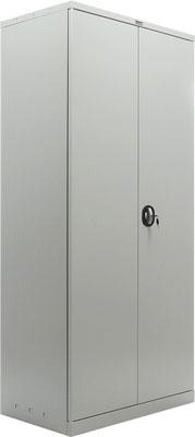 Шкаф металлический офисный Brabix MK 18/91/37 (в1830*ш915*г370мм 45кг) 4 полки разборный 291135