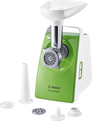 Мясорубка Bosch MFW3520G Белый биметаллический радиатор rifar рифар b 500 нп 10 сек лев кол во секций 10 мощность вт 2040 подключение левое