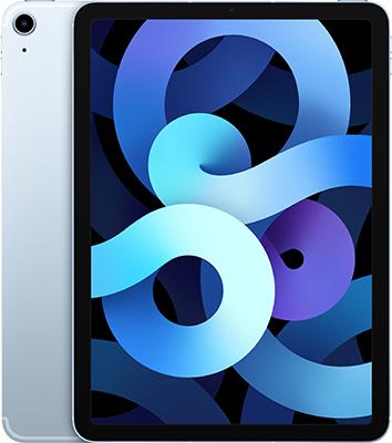 Планшет Apple 10 9-inch iPad Air (2020) Wi-Fii & Cellular 64 GB голубое небо (MYH02RU/A) планшет apple 10 9 inch ipad air 2020 wi fii