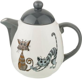 Чайник заварочный Lefard Озорные коты 1000 мл 19*12*18 см серый 188-178