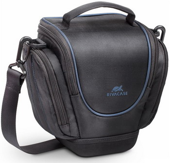 Фото - Сумка для фотокамеры Rivacase 7202 SLR Holster Case with side pockets black сумка для фотокамеры rivacase 7450 ps slr messenger bag black