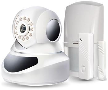 Комплект сигнализации Ginzzu HS-K 07 W комплект gsm охранной сигнализации ginzzu hs k11w