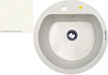 Кухонная мойка Zigmund amp Shtain KREIS 505 F индийская ваниль