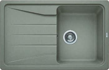 Кухонная мойка BLANCO SONA 45 S SILGRANIT серый беж кухонная мойка blanco rondoval 45 silgranit серый беж